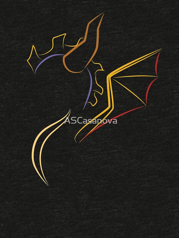 Der violette Drache von ASCasanova