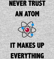 Don't Trust Atoms Kids Pullover Hoodie