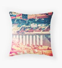 French Farmers Market Throw Pillow