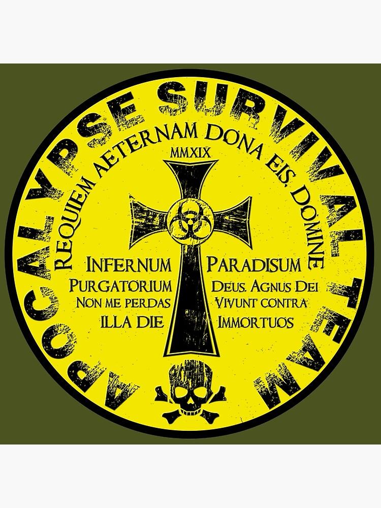 Apocalypse Survival Team by andyrenard