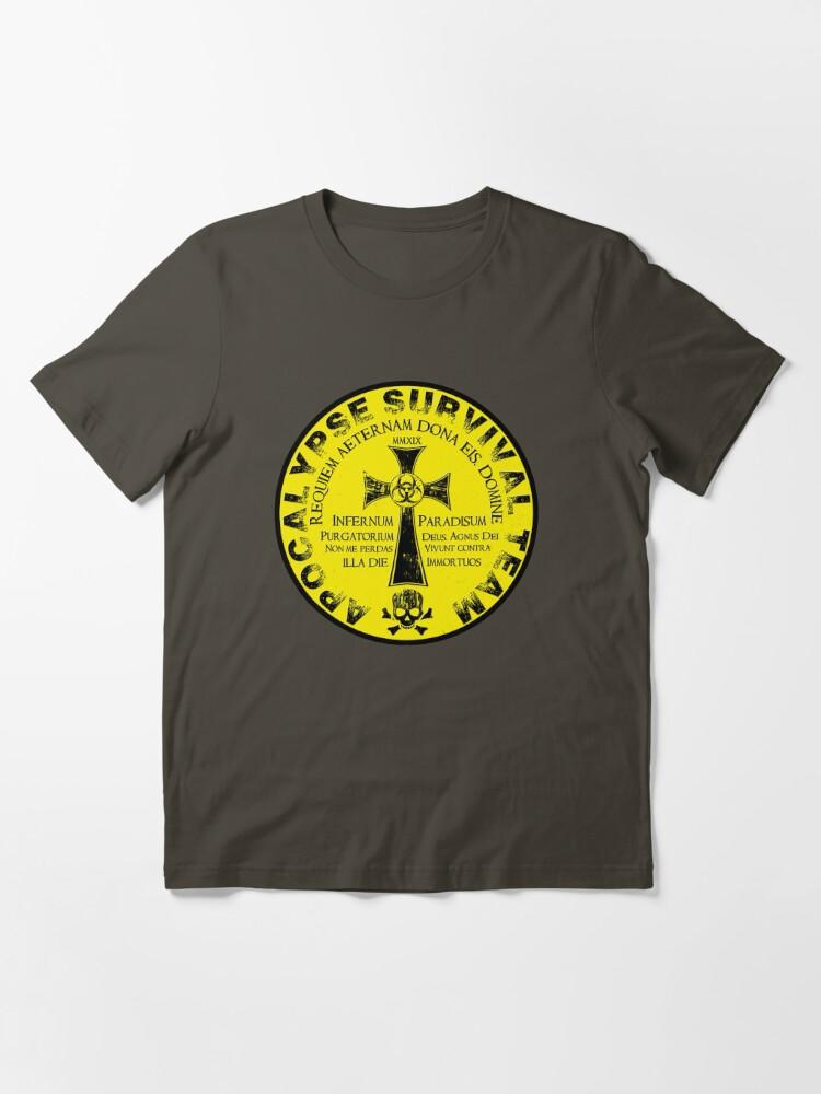 Alternate view of Apocalypse Survival Team Essential T-Shirt