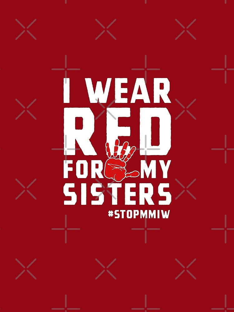 MMIW Red for Missing Murdered Indigenous Women Awareness by MarOlv