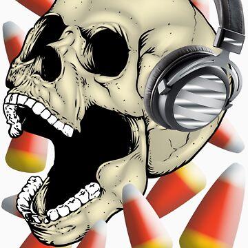 Skull Candy Corn by bear77
