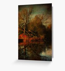 Autumn's Decay Greeting Card