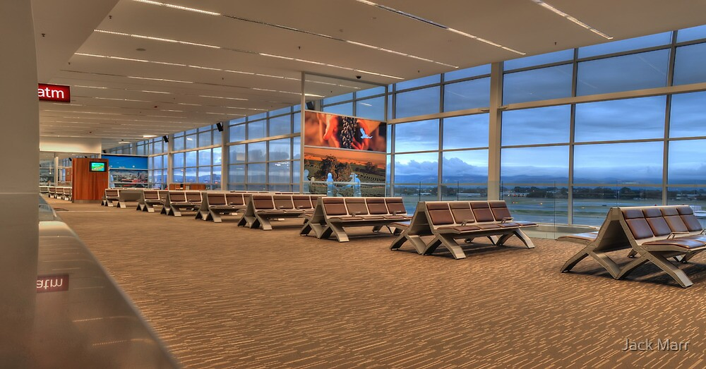 Adelaide Airport - Gate 18 by Jack Marr