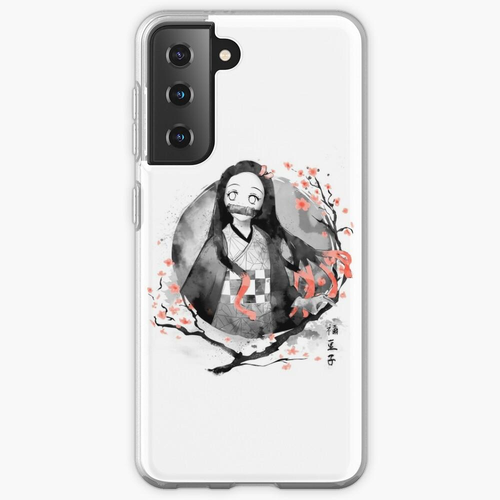 Nezuko Ink Samsung Galaxy Phone Case
