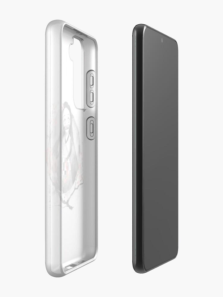 Alternate view of Nezuko Ink Samsung Galaxy Phone Case
