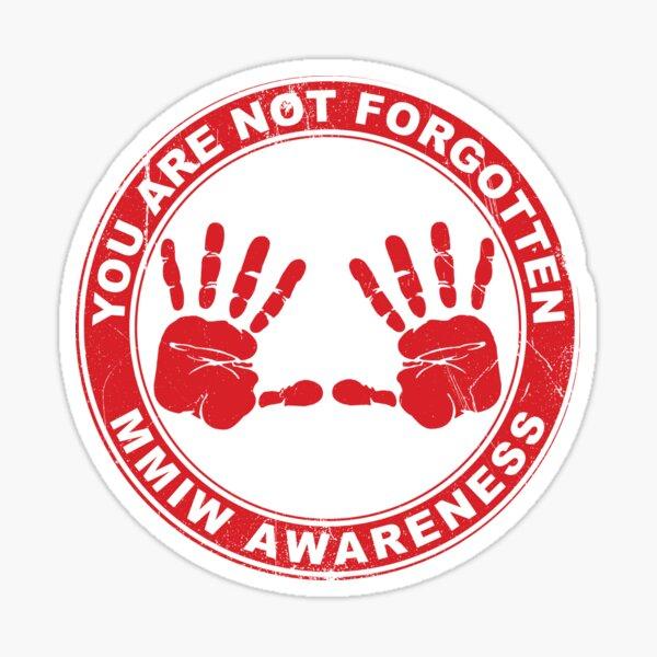 MMIW Clothing Missing Murdered Indigenous Women Awareness Sticker