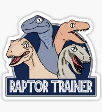 Raptor Trainer  Sticker