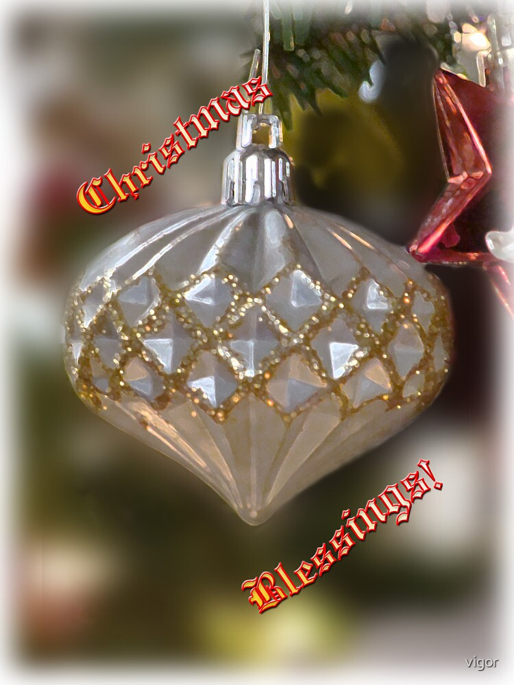 christmas blessings by vigor