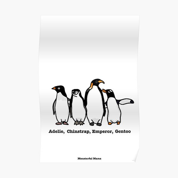 Atypical Penguins Poster