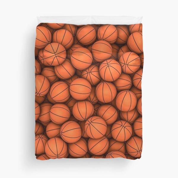 Basketballs Duvet Cover
