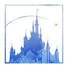 Schloss inspiriert Silhouette von InspiredShadows