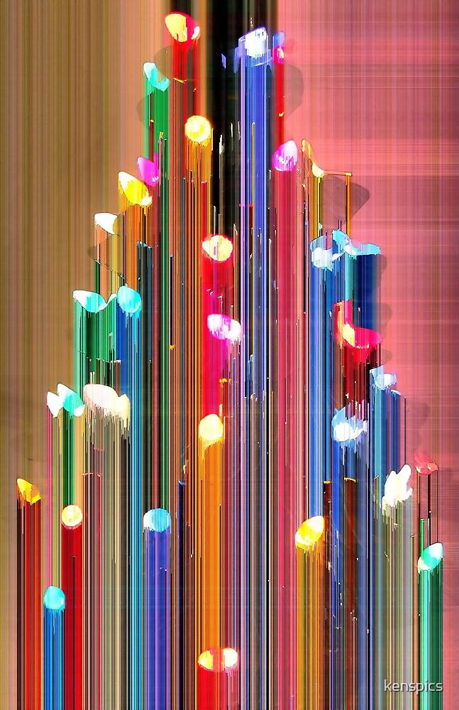 Christmas Lights Fantasy by kenspics