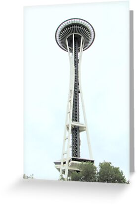 Space Needle, Seattle Washington by essenceoview
