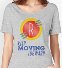 Keep Moving Forward - Meet the Robinsons Women's Relaxed Fit T-Shirt