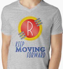 Keep Moving Forward - Meet the Robinsons Men's V-Neck T-Shirt