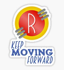 Keep Moving Forward - Meet the Robinsons Sticker