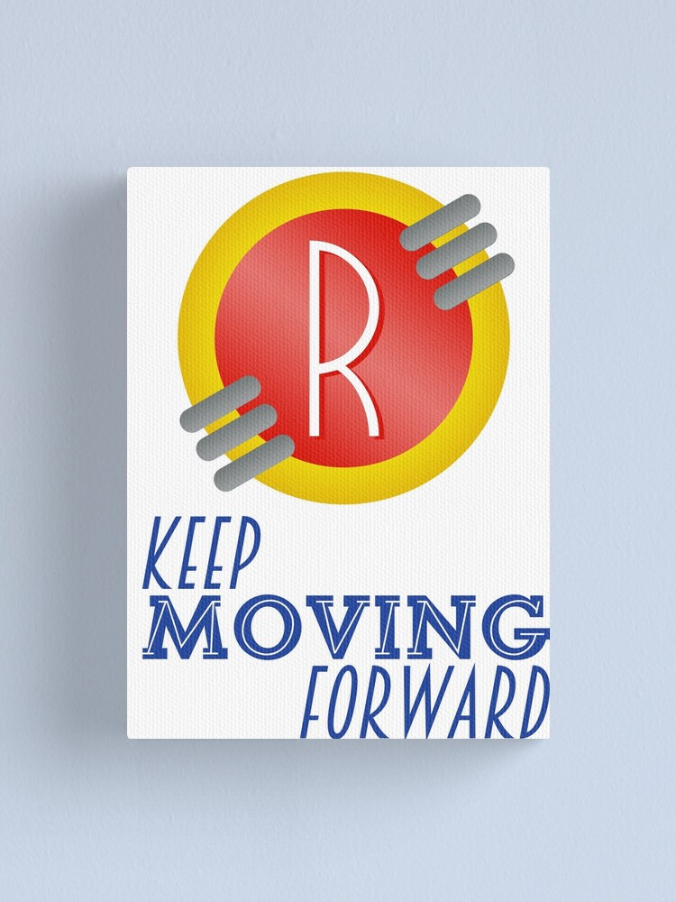 Alternate view of Keep Moving Forward - Meet the Robinsons Canvas Print