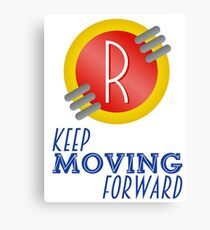 Keep Moving Forward - Meet the Robinsons Canvas Print