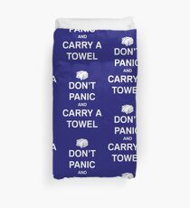 Take Your Towel Everywhere Duvet Cover