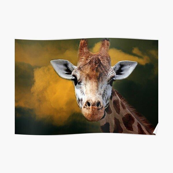 """Mr Giraffe..."" Poster"