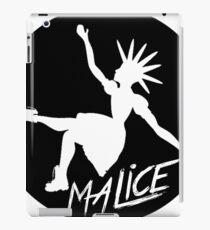 Malice Magazine Logo iPad Case/Skin