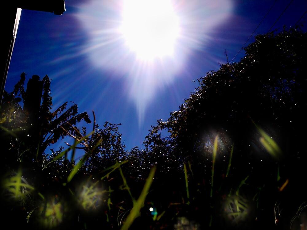 Blue Sun by yceron