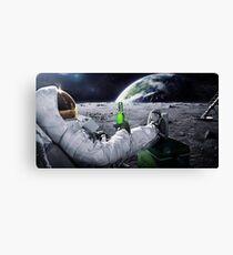 Space Beer Canvas Print