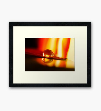 Parting My Soul Framed Print