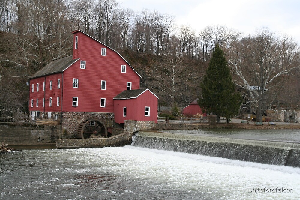 Red Mill by whitefordfalcon