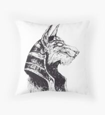 Lord Protector of the Underworld Throw Pillow