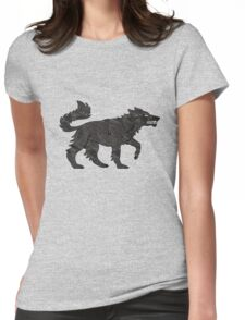 Direwolf Womens Fitted T-Shirt