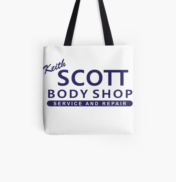 One Tree Hill - Keith Scott Body Shop All Over Print Tote Bag