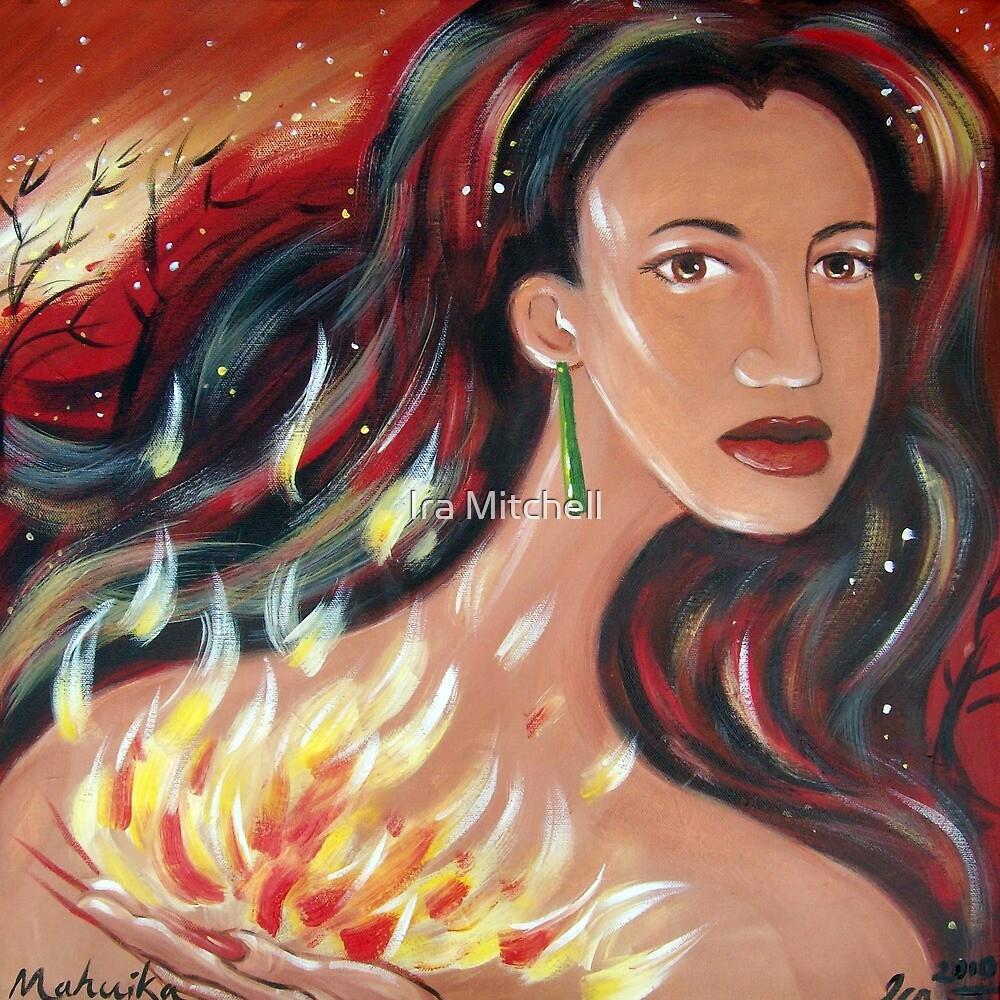 Mahuika - Fire Goddess by Ira Mitchell-Kirk
