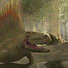 Dimetrodon limbatus by skeletalbird