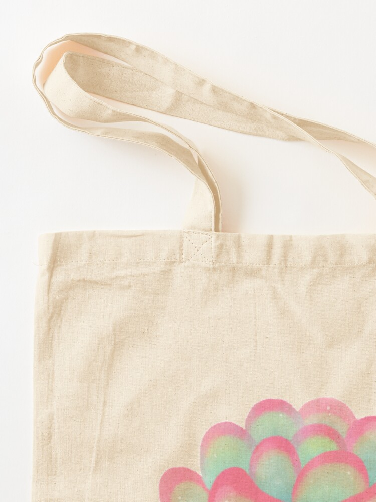 Alternate view of Cactus tortoise Tote Bag