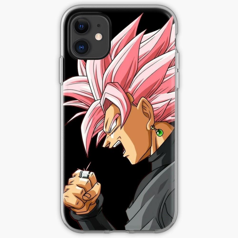 Black Goku Rosé iPhone Case & Cover