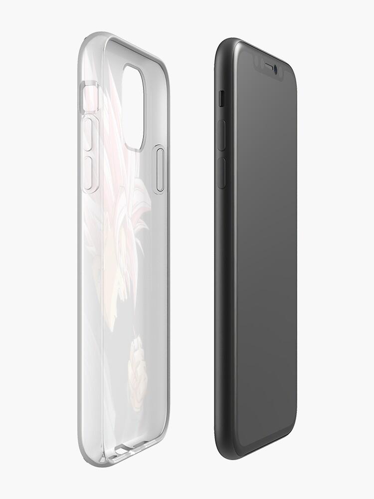 Alternate view of Black Goku Rosé iPhone Case & Cover