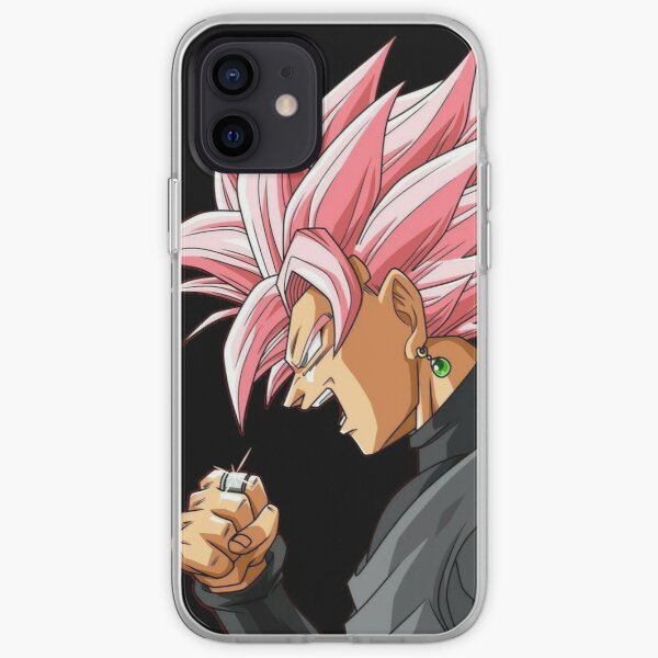 Black Goku Rosé Coque souple iPhone