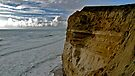 Cliff, Sky and Ocean, Northern California Coast by Scott Johnson