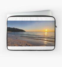 Sunset on Old Silver Beach Laptop Sleeve