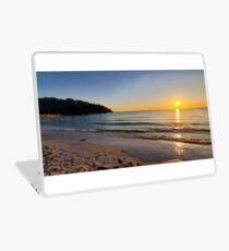 Sunset on Old Silver Beach Laptop Skin