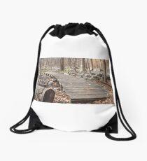 Sourland Mountain Trails Drawstring Bag