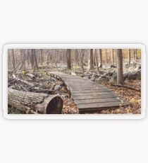 Sourland Mountain Trails Transparent Sticker