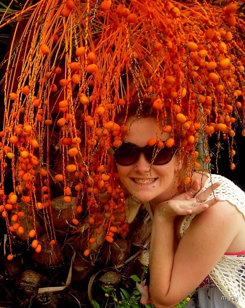 Orange Seed Hair by myraj