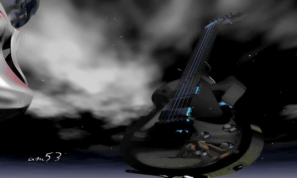 Your Guitar never sleeps. by alaskaman53