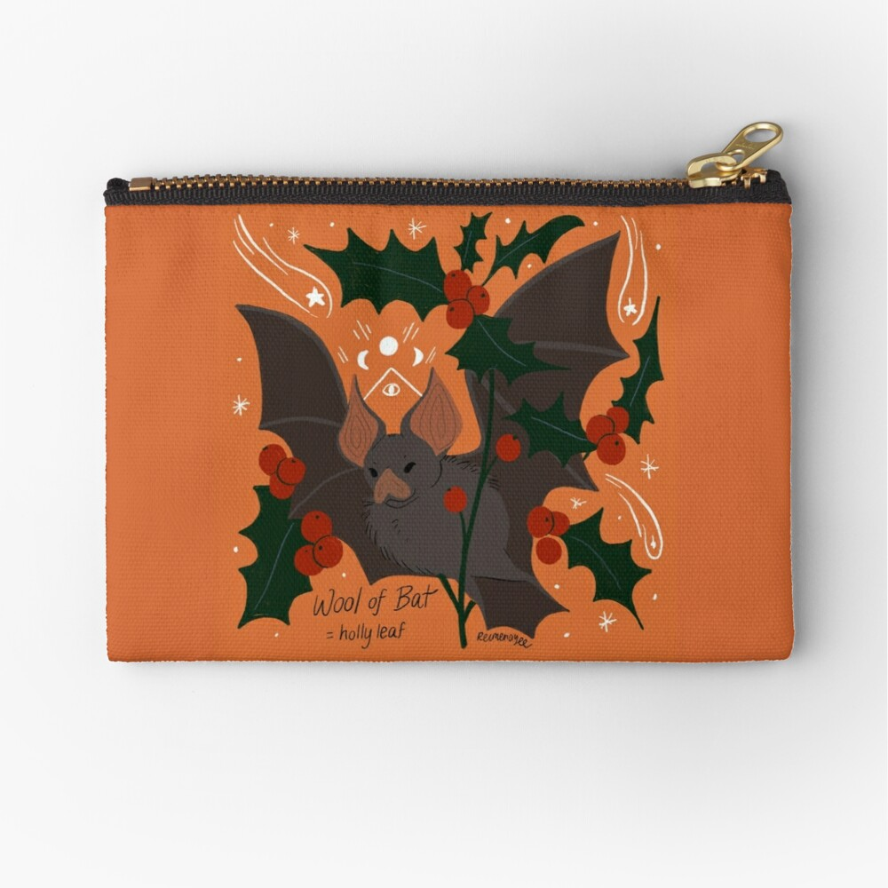 Witch's Brew: Wool of Bat Zipper Pouch