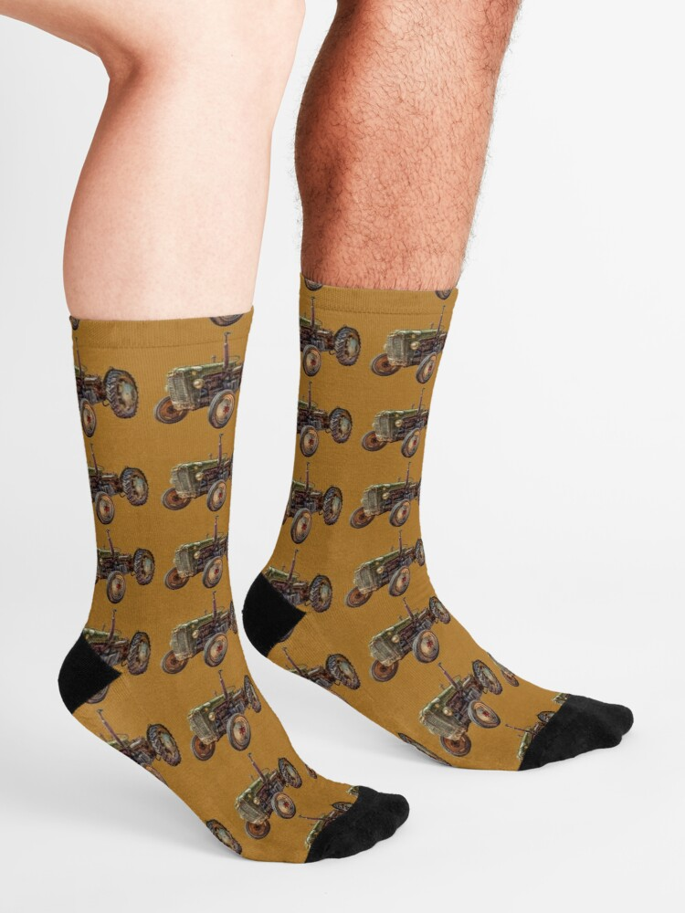 Alternate view of Old Tractor Socks