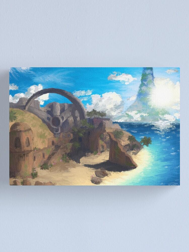 Alternate view of Impressionist Last Resort Canvas Print